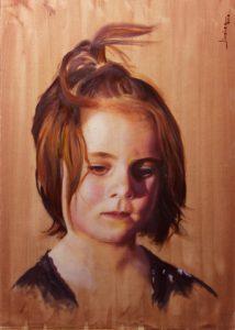 Retrato Adri 30x40cm
