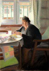 La abuela Irene 110x75cm