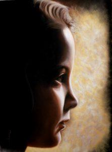 Retrato de Paula 100 x 75cm