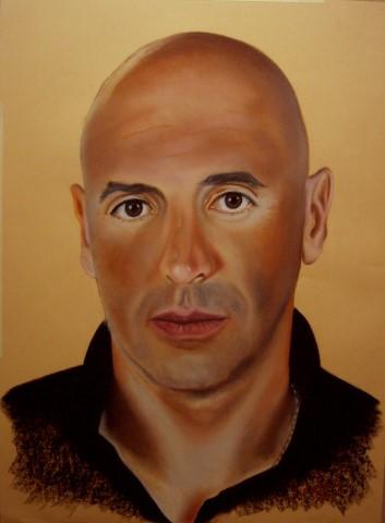 Retrato José Luis 75 x 55cm