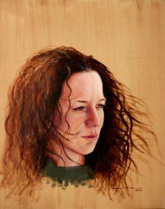 Retrato Mila 50x40cm